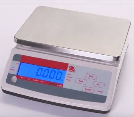 Economical Bench Scale Model Valor 1000