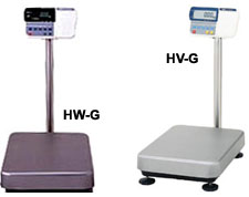 Bench/Floor Scale Model HV-G/HW-G