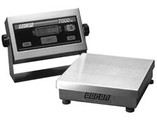 Stainless Steel Bench/Floor Scale Model 7000XL